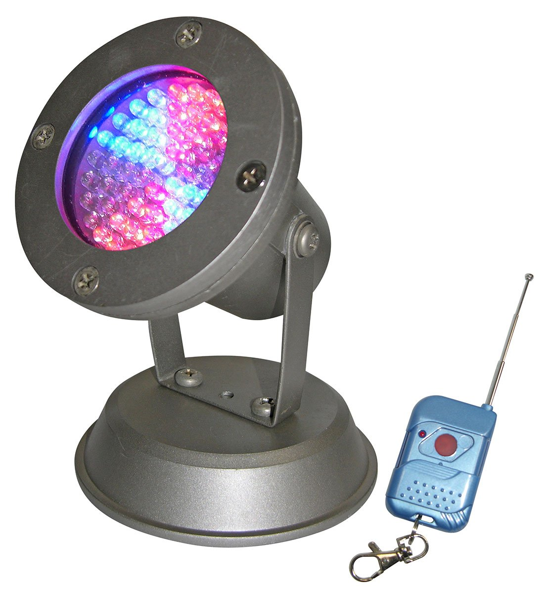 60 Super Bright LED Changing Pond Light w Wireless Controller