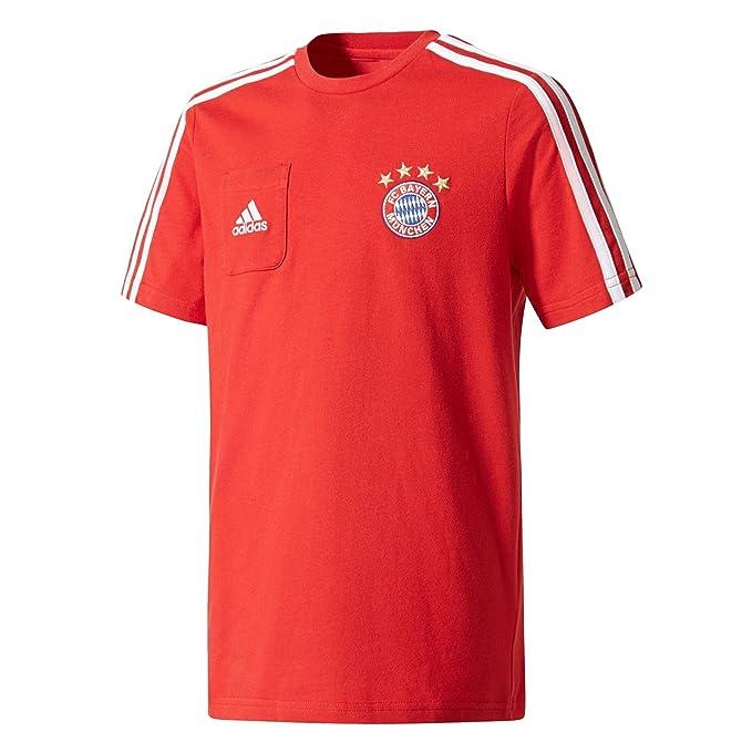 adidas FCB H SHO Y Pantal/ón Corto-L/ínea FC Bayern de Munich Ni/ños