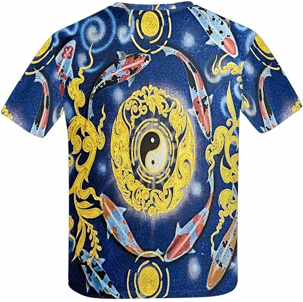INTERESTPRINT Childs T-Shirt Koi Carps XS-XL