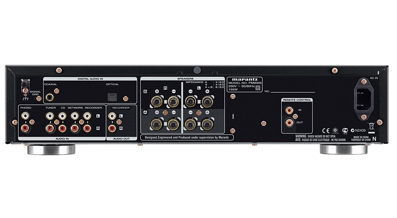 Marantz PM6005 2.0 Hogar Alámbrico Oro, Plata - Amplificador de audio (2.0 channels, 60 W, 0,08%, 102 dB, 60 W, 45 W)