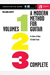 A Modern Method for Guitar - Complete Method with 14+ Hours of Video and 123 Audio Tracks: Volumes 1, 2, and 3 with 14+ Hours of Video and 123 Audio Tracks Kindle Edition