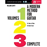 A Modern Method for Guitar - Complete Method with 14+ Hours of Video and 123 Audio Tracks: Volumes 1, 2, and 3 with 14+ Hours