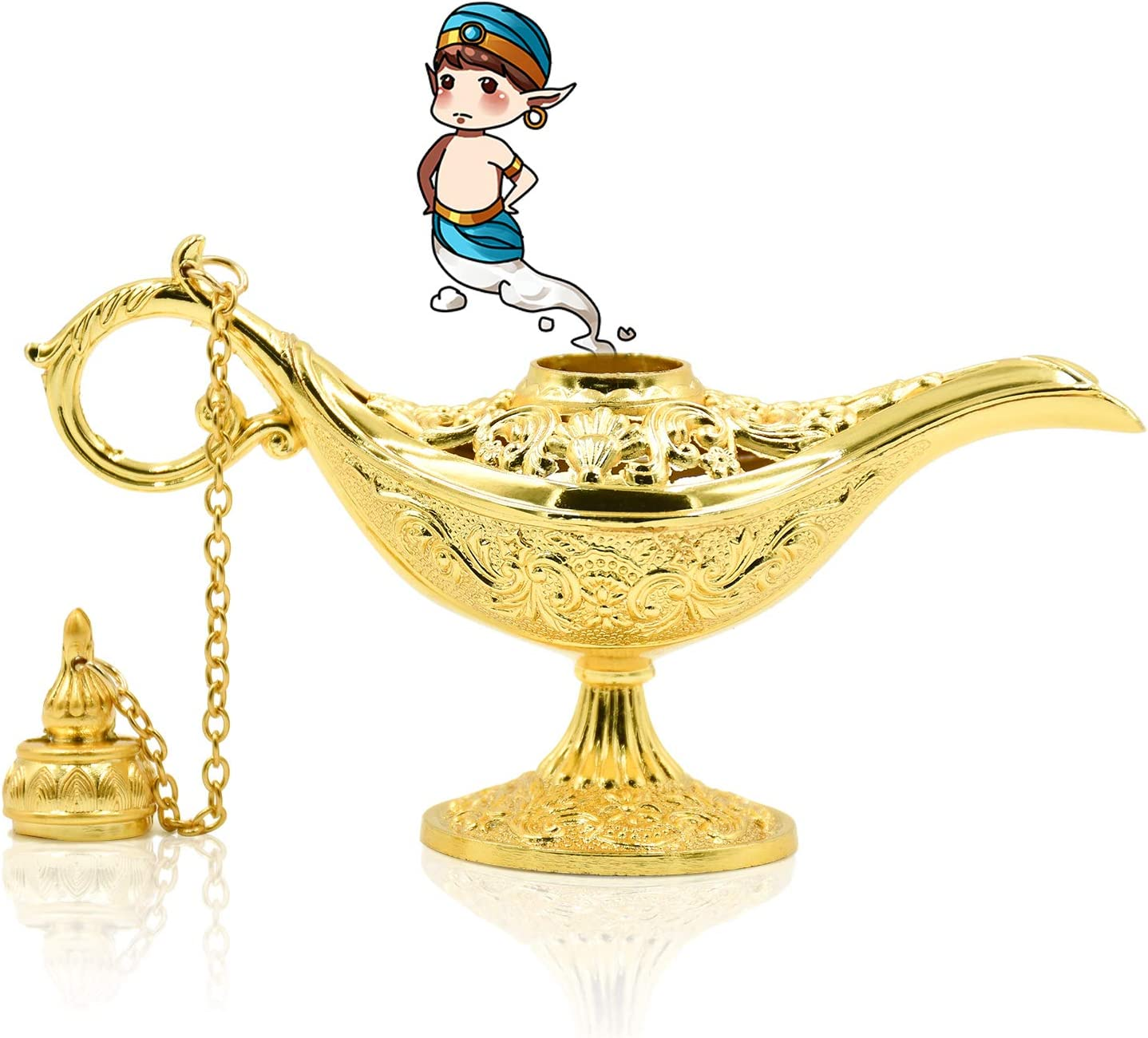 Magic Genie Light Lamp Aladdin Arabian