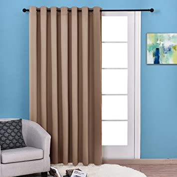 Amazon.com: Nicetown Home Fashion Sliding door insulated blackout ...