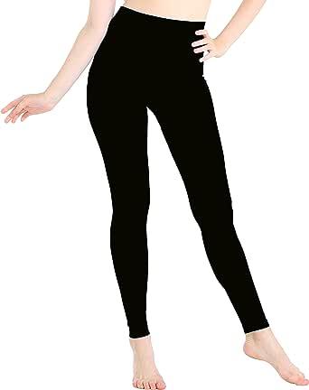 JQAmazing Womens Leggings High Waist Full Length Seamless Yoga Pants for Women & Girls