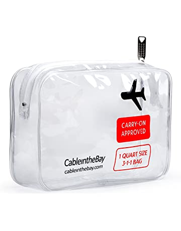 3766a4ccbbc4 TSA Approved Clear Travel Toiletry Bag