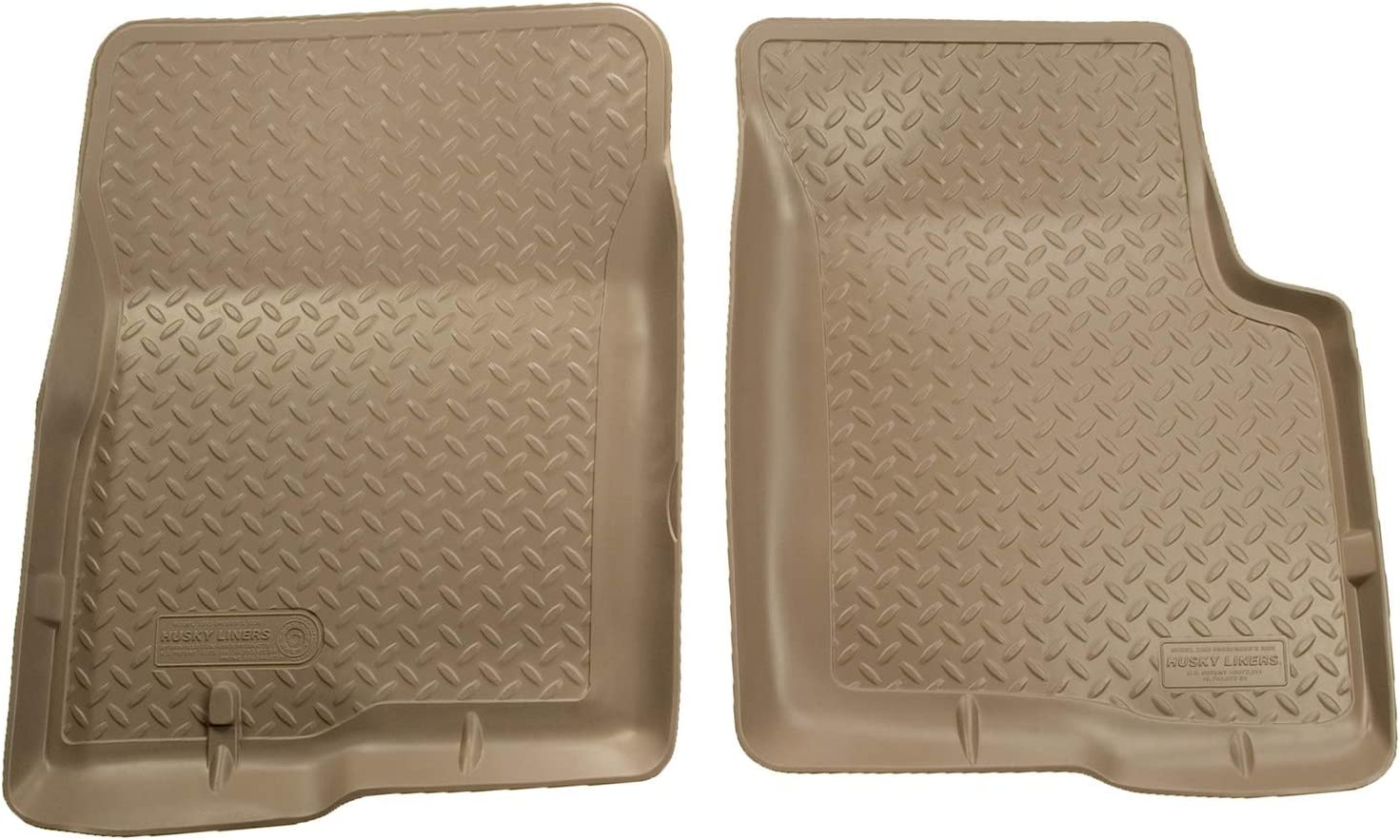 Black Husky Liners Classic Style Custom Fit Molded Front Floor Liner for Select Chevrolet//Cadillac//GMC Models