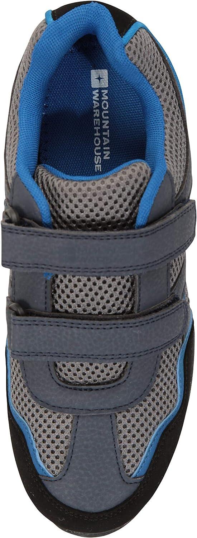 Mountain Warehouse Zapatillas Mars para ni/ños Zapatillas c/ómodas de Verano Zapatillas Ligeras Zapatillas de monta/ña con Tiras de Cierre de Gancho y Lazo para ni/ños