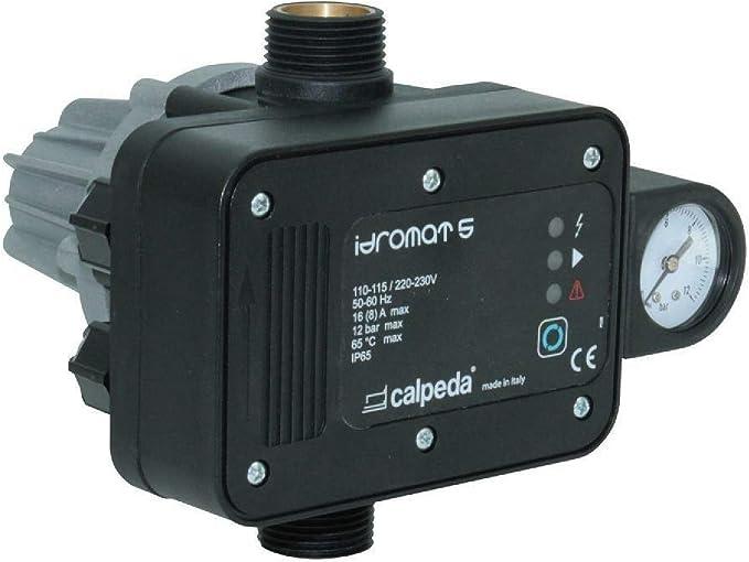 Regulator Pump CALPEDA IDROMAT 5-15 Switching ON Pressure 1,5bar 230V 50//60Hz