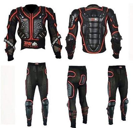 Pro Biker Gears Traje de seguridad con pantalón de armadura ...