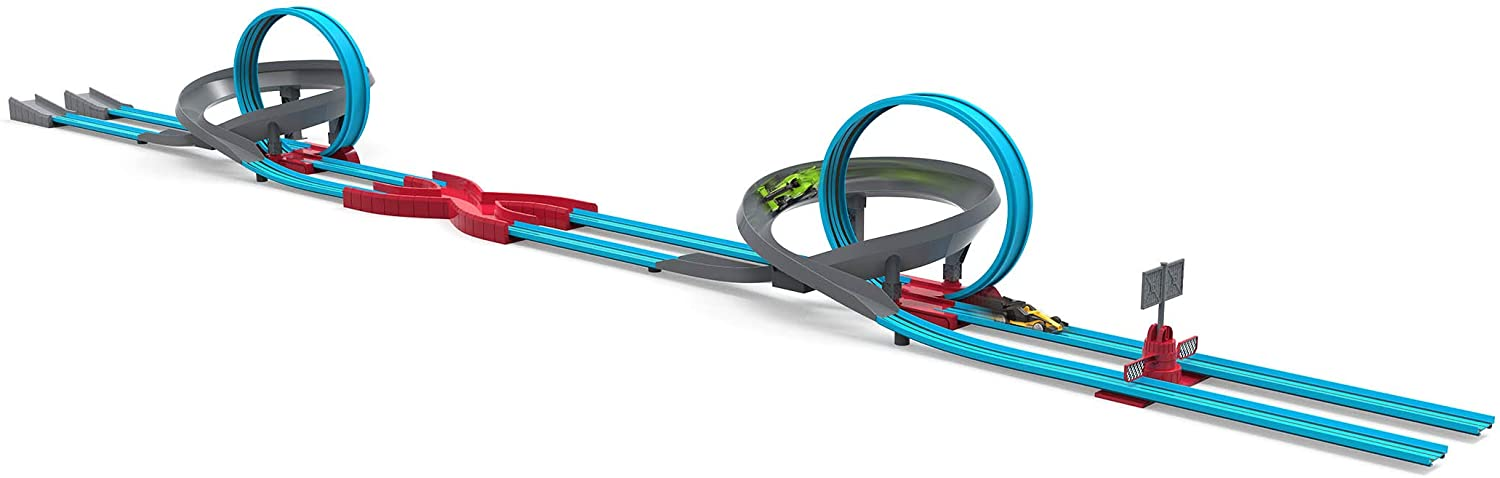 DRIVEN by Battat – Turbo Dash – 28pc Toy Racing Loop Set – Race Car Toys and Playsets for Kids Aged 3 and Up (WH1116C1Z)