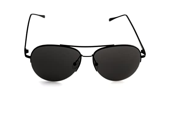 c1045837a937a Black Aviator Pilot Air Force Top Gun Military Metal Frame Sunglasses Mens  Ladies Fashion Retro 80s Vintage Style  Amazon.co.uk  Clothing