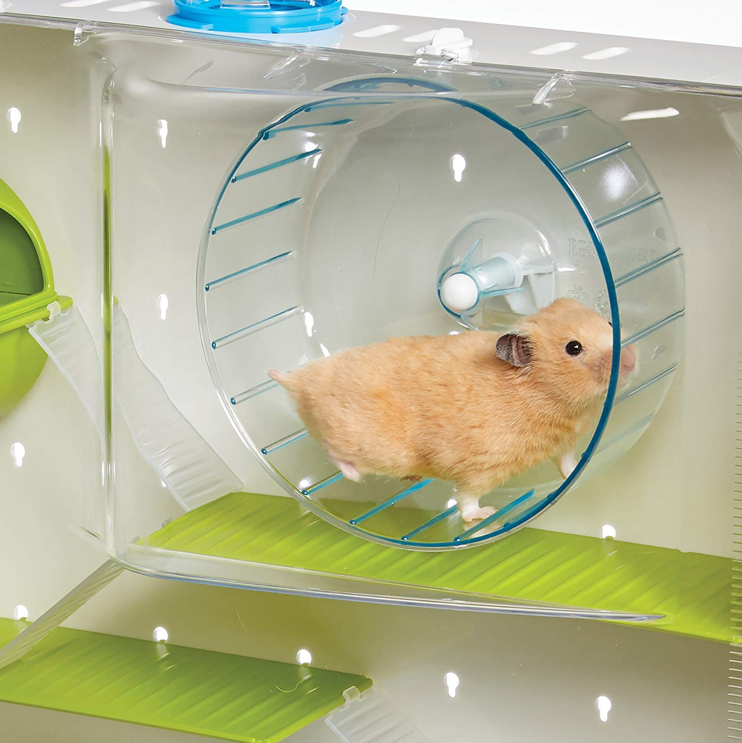 MidWest Homes for Pets Hamster Cage | Awesome Arcade Hamster Home | 18.11'' x 11.61'' x 21.26'' by MidWest Homes for Pets (Image #5)