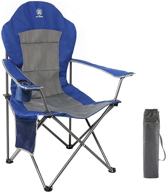 Rammento Folding Chair Folding Black Padded Seat /& Black Chair /& Silver Metal Frame