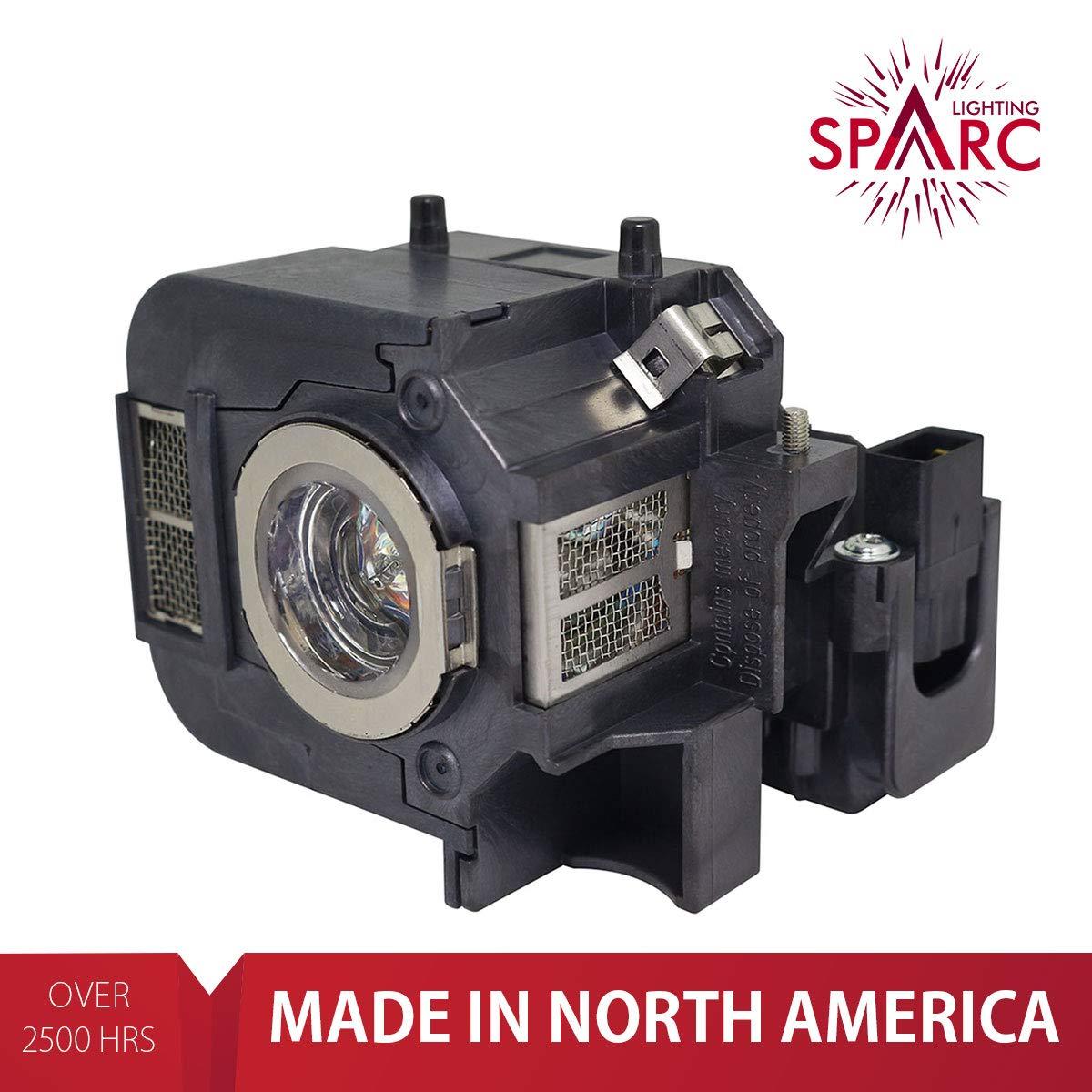 SpArc Lighting for Epson ELPLP50 V13H010L50 fits EB-824 EB-825 EB-826W EB-84 EB-84e EB-84he EB-85 EMP-825 EMP-84 EMP-84he H294B H295A H296A H297A H353A H353B H353C H354C H355B H355C H356C H357C