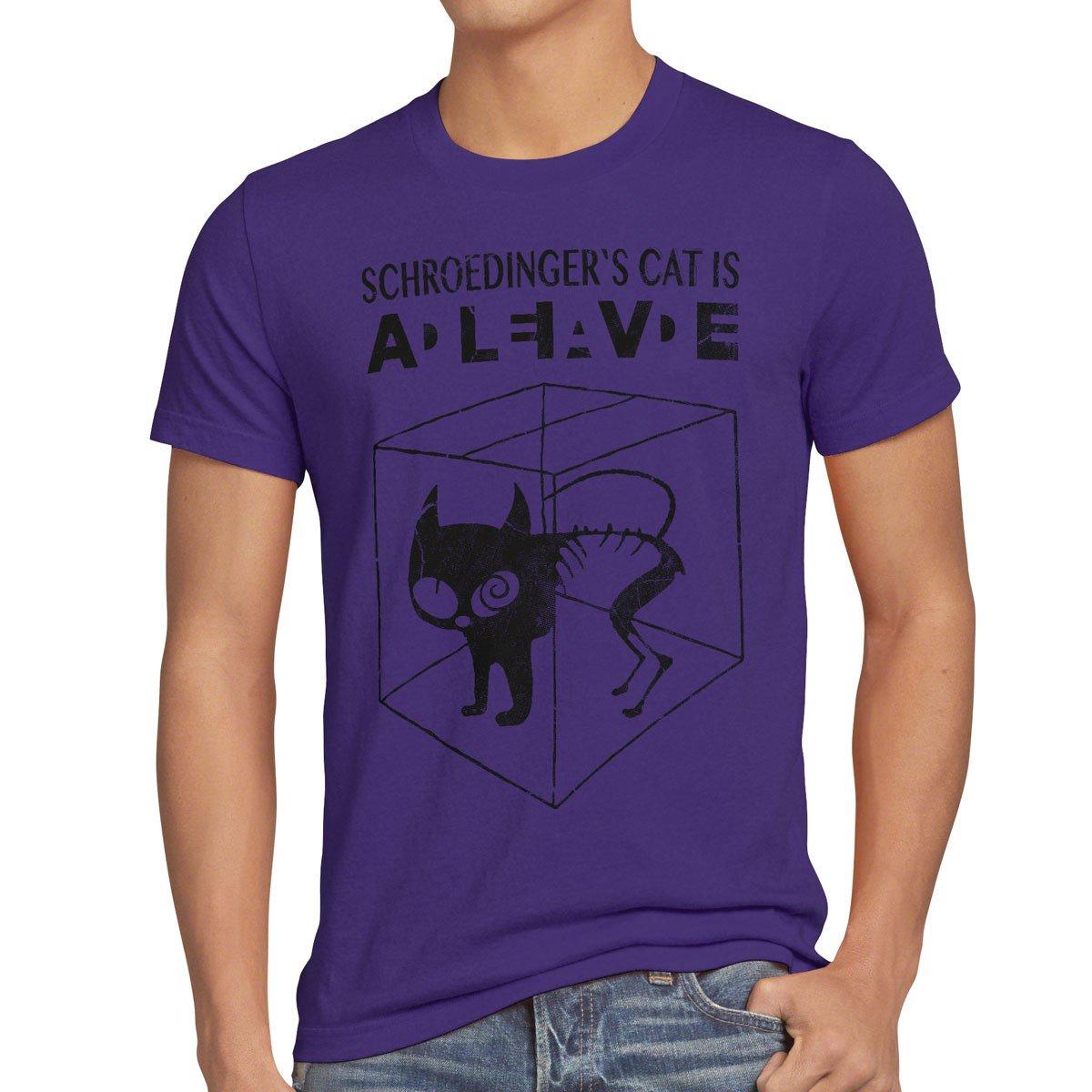 Style3 Chat De Schrodinger T Shirt Homme