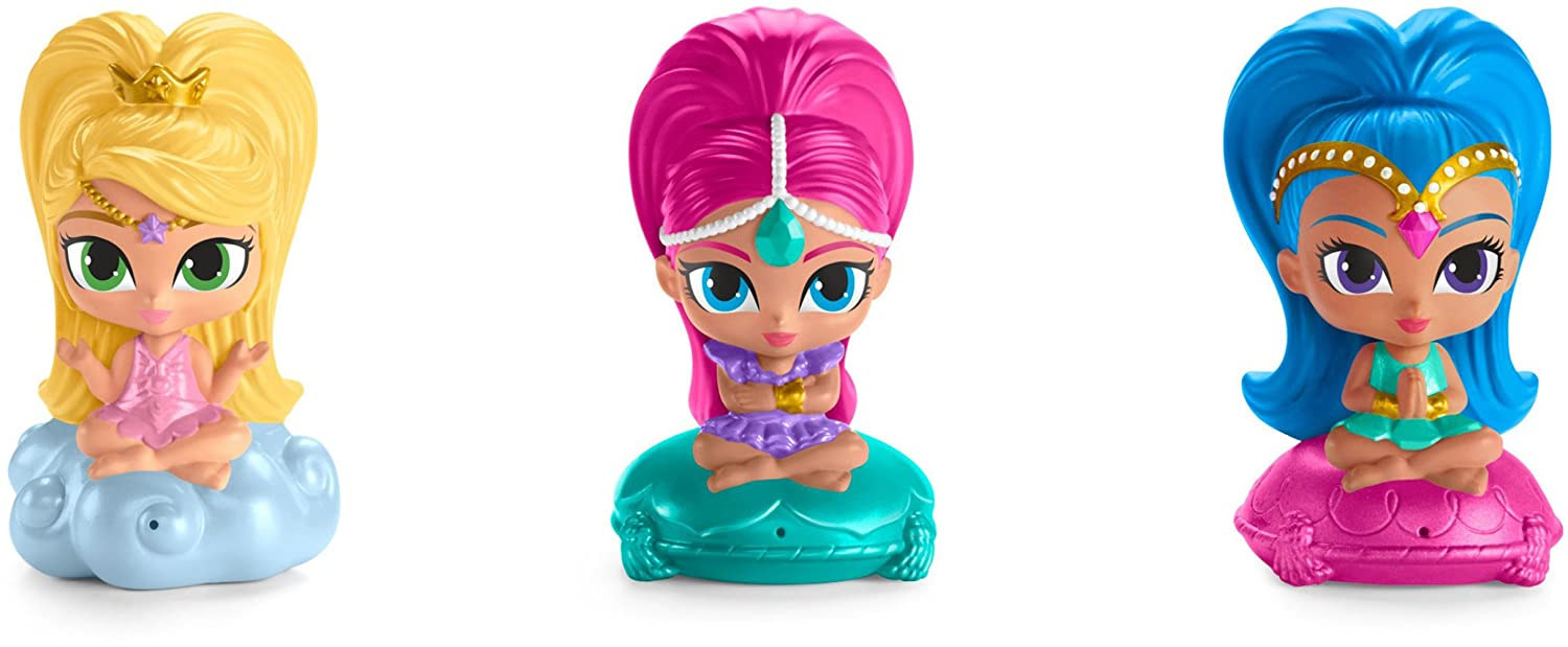 d2bdf836667 Amazon.com: Fisher-Price Nickelodeon Shimmer & Shine, Bath Squirters  (3-Pack): Toys & Games