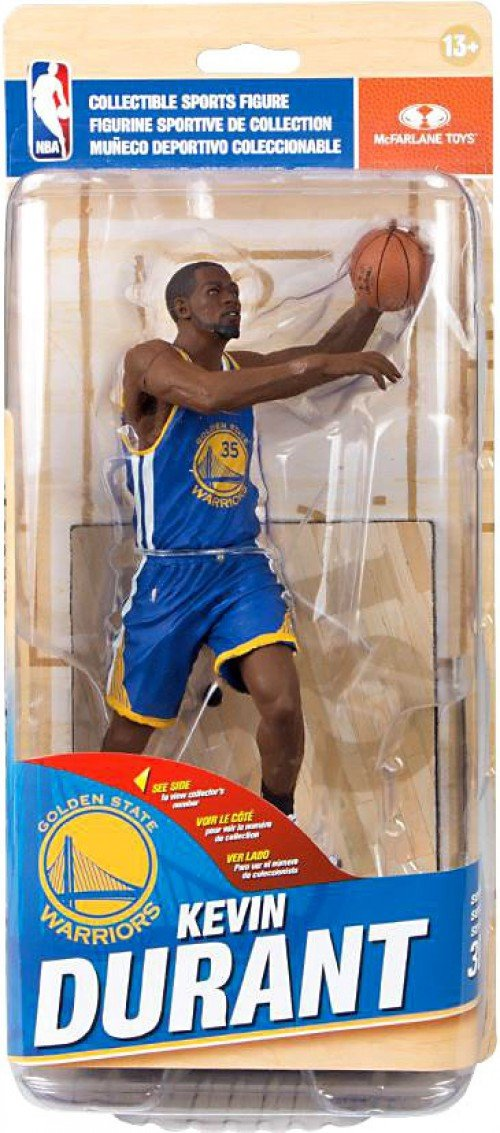 McFarlane Toys NBA Series 30 Golden State Warriors Kevin Durant Action Figure