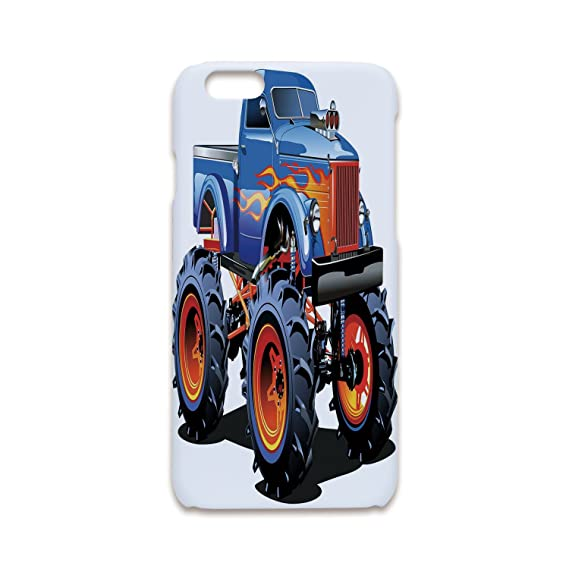 Phone Case Compatible with iPhone5 iPhone5s 3D Print Fashion,Man Cave Decor,Cartoon Monster