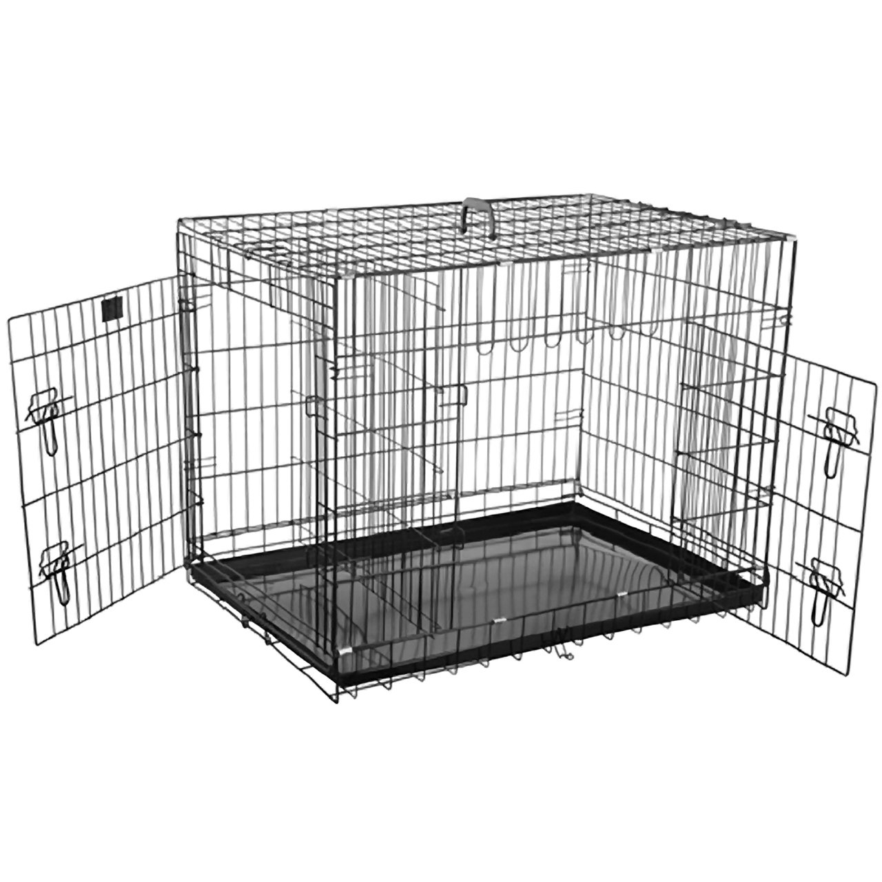 91.44 cm Pet Trex 2202 36 Inch Dog Crate Folding Pet Crate Kennel for Dogs, Cats or Rabbits, 36