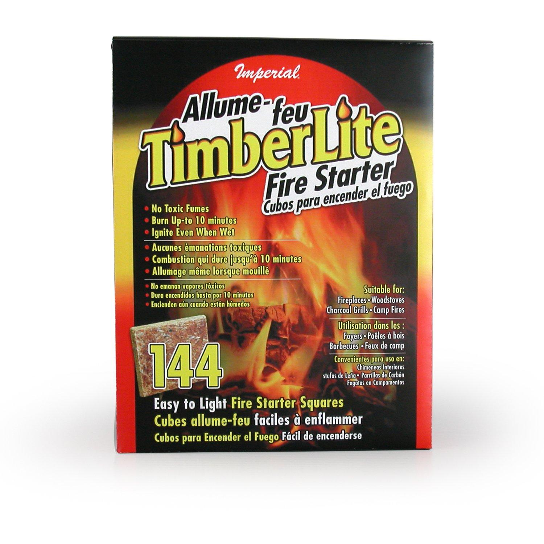 Imperial Timberlite Fire Starter, 144 Squares, KK0313