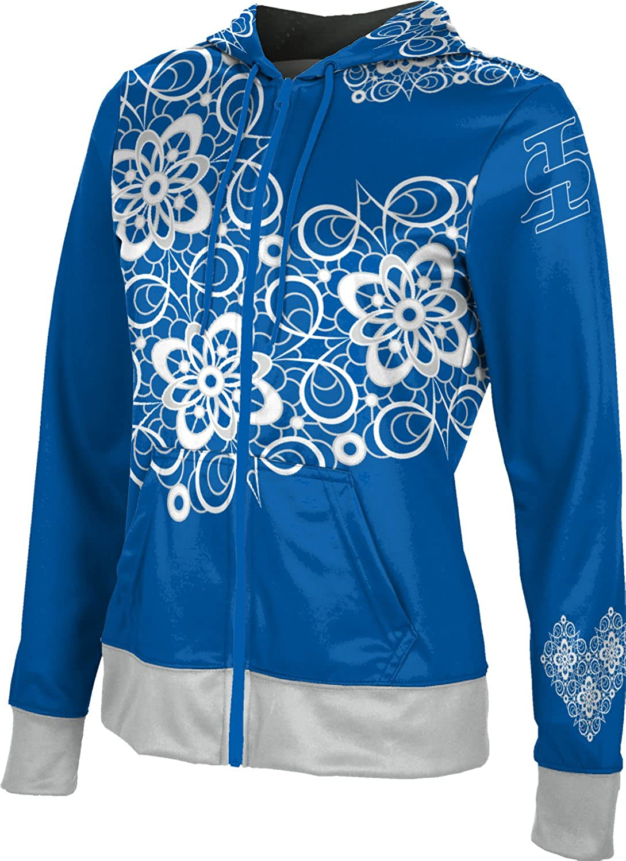 Foxy ProSphere Indiana State University Womens Zipper Hoodie School Spirit Sweatshirt
