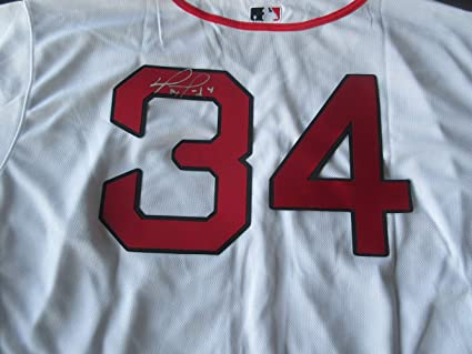 newest 33080 a9b5a David Ortiz Autographed Boston Red Sox Jersey W/PROOF ...