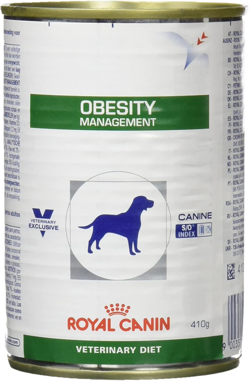 Royal Canin C-11397 - Alimento húmedo para perros (Diet Obesity) Dp34 - 410 gr , 1 unidad