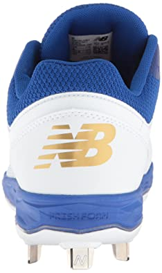 Black//White New Balance Womens Velo V1 Metal Softball Shoe 8.5 D US SMVELOK1