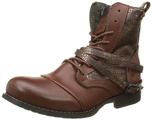 Zapatos Piel Complementos Bunker Marrón Eu cognac es Amazon Y marrón Otra De 37 Lu4 Botas Mujer qqrtHOZ