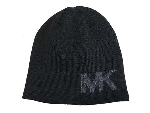 Michael Kors Mens MK Knit Beanie at Amazon Men s Clothing store  f6f25ad99f5