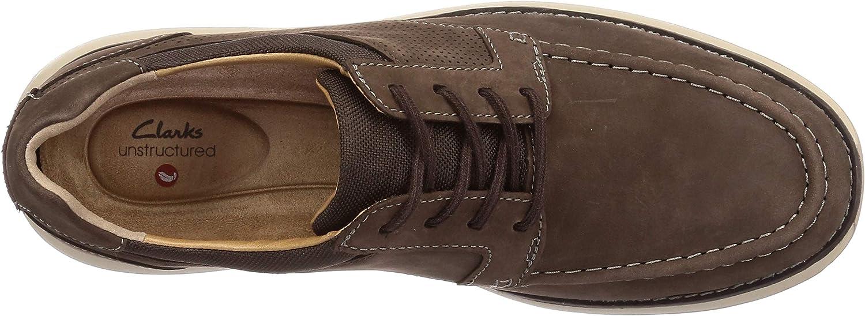 Clarks Un Pilot Tie, Sneakers Basses Homme Marron Brown Nubuck