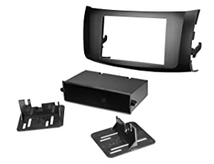 Scosche NN1675B 2013-Up Nissan Sentra ISO Double DIN Dash Kit with Pocket
