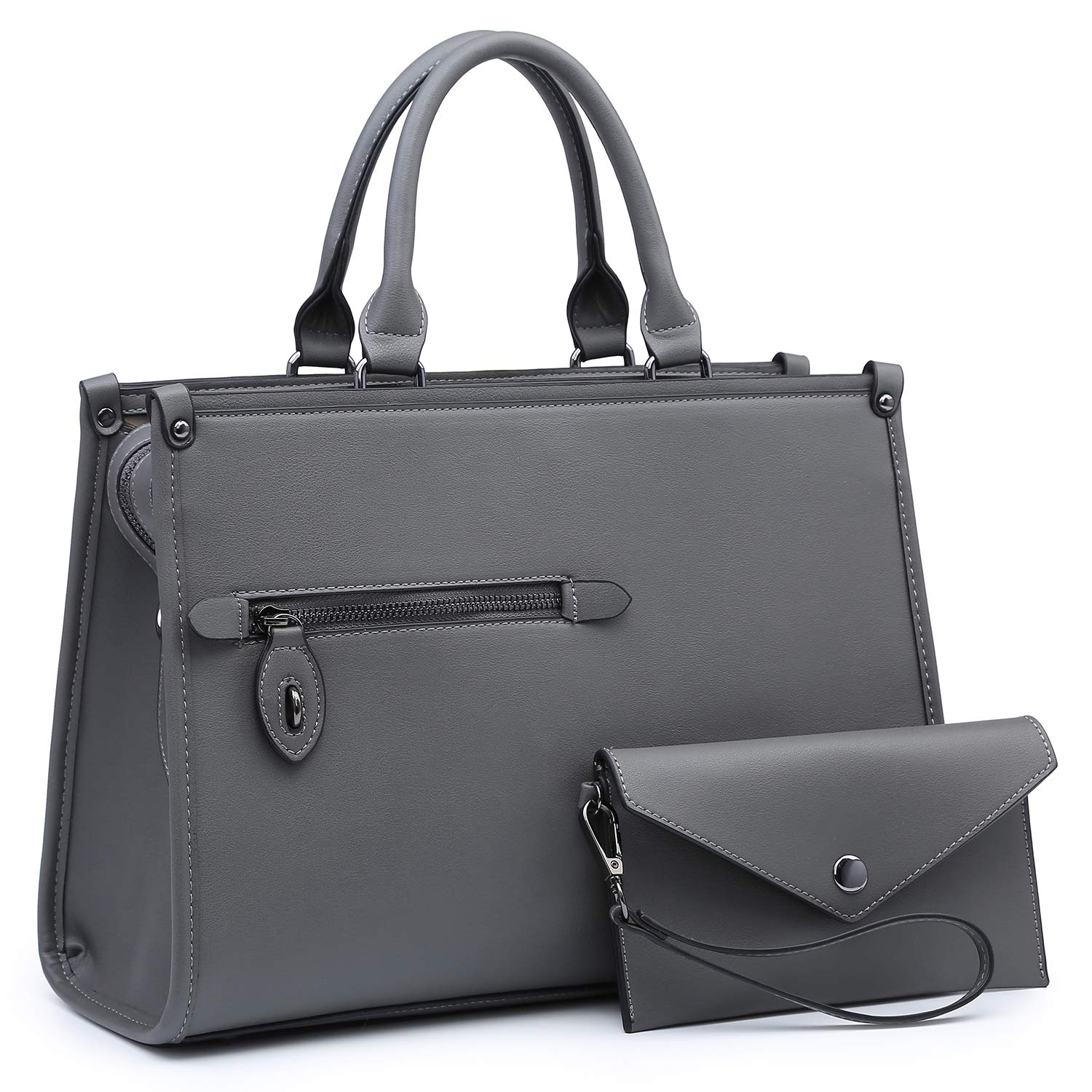 f8a083d811 Amazon.com  Dasein Purses and Handbags Shoulder Bags Tote Bags for Women  Satchel Handbags With Wallet 2pcs  Shoes