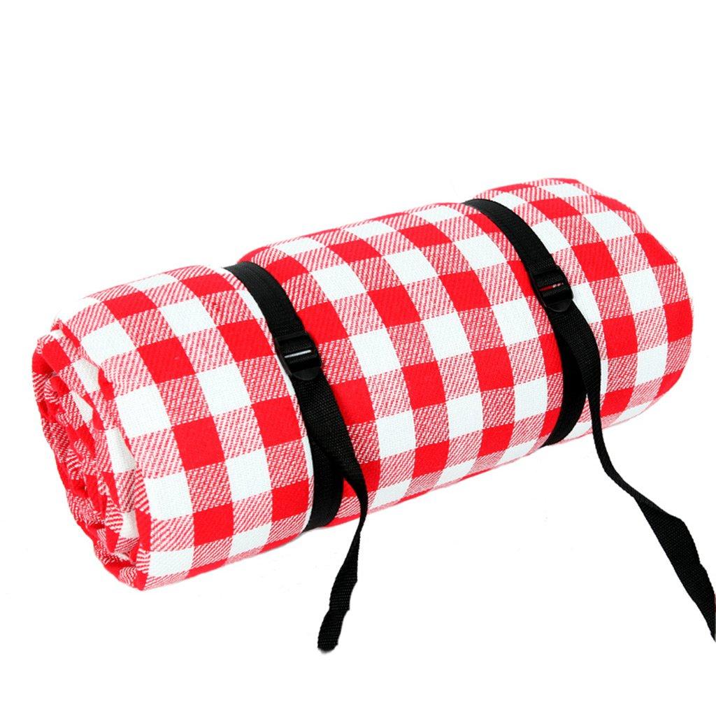XY&CF Übergroßes Zelt im Freien feuchtigkeitsfeste Wasserdichte Picknickmatte 5-8 Leute tragbarer faltender Strand im Freien, der Grasreise kampiert, die 3  3m kampiert