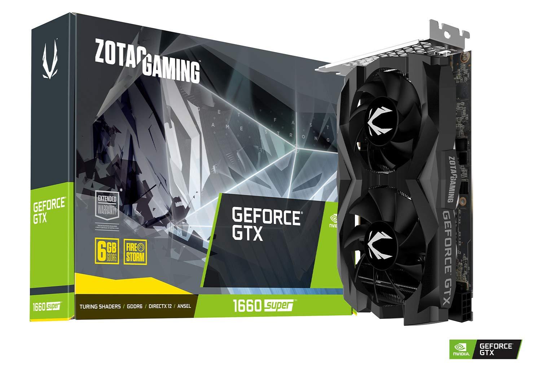 Image result for Zotac GeForce GTX 1660 super twin fan (1080p)