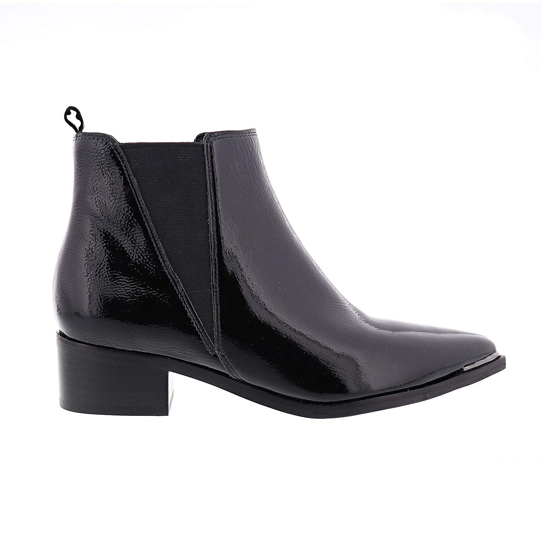 Black Black Patent Marc Fisher LTD Women's Yale Ankle Bootie