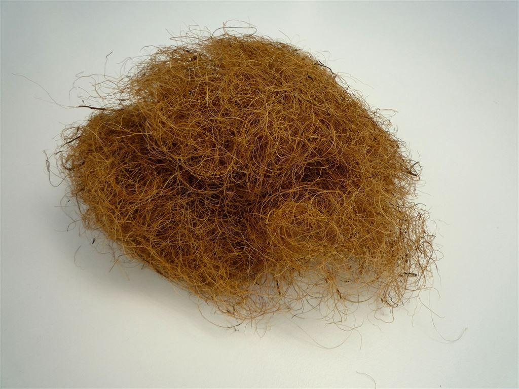 ヤシファイバー (ナチュラル色 2kg/5kg) 天然ヤシ繊維 鉢植えの目隠し マルチング材 敷藁 (5kg) B01HHJNH4C 5kg  5kg