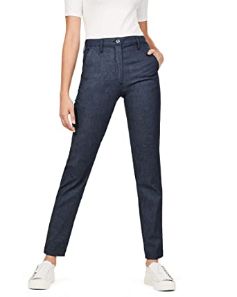 G-STAR RAW Damen Bronson High Waist Skinny Chino  Amazon.de  Bekleidung 783e7332f3