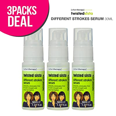 3-Pack! Twisted Sista Different Strokes Serum, Hair Serum 30ml