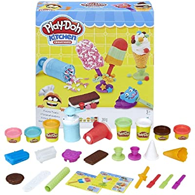 Play-Doh Kitchen Creations Frozen Treats: Toys & Games