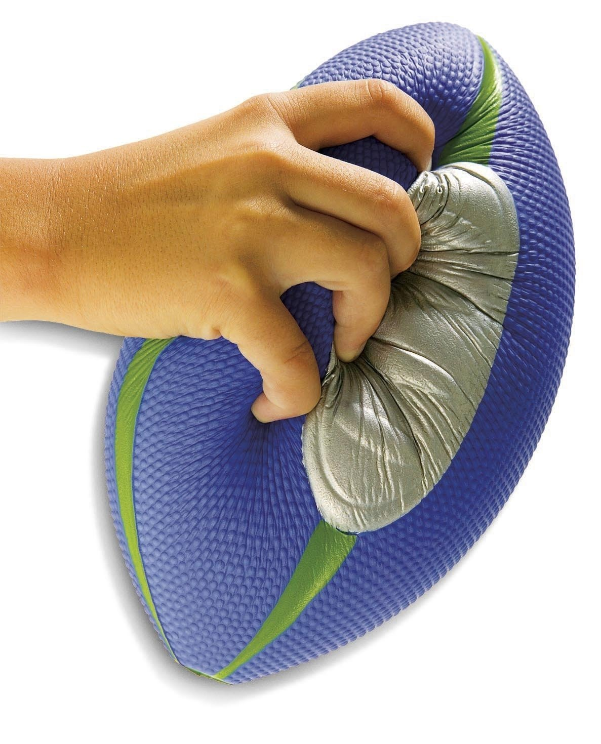 Diggin Squish Soft Kids Football. Easy Grip Foam Ball. Outdoor Indoor Sports Toy by Diggin