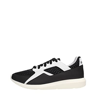 Bikkembergs - Zapatillas para Hombre Black/White 40