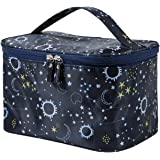 HOYOFO Large Makeup Bag for Women Travel Cosmetic Bags with Handle Waterproof Toiletry Storage Bag Make up Bag Travelling, St