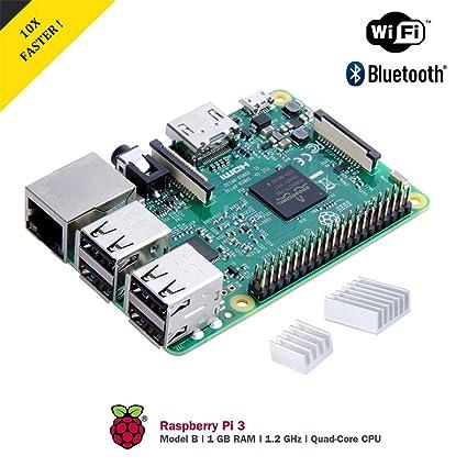 Raspberry Pi 3 Modelo B Starter Kit Desktop con Caja ...