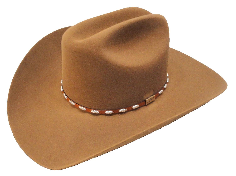 Resistol Cowboy Hat 6X Beaver Fur Chestnut Silver Eagle George Strait at  Amazon Men s Clothing store  269a3899b15