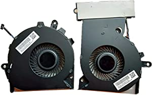 KBR Replacement G3A-CPU+G3A-GPU Cooling Fan Compatible with HP OMEN 15-CE 17-an Series Laptop P/N: 929455-001 929456-001