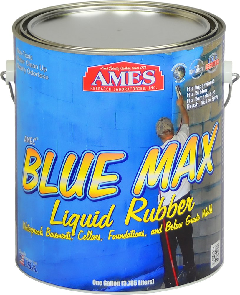 Amazon.com - Ames Blue Max Liquid Rubber Basement Wall Sealer