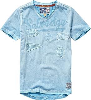 c01d9e0b895ef Vingino - T-Shirt à manches longues - Garçon bleu Indigo Blue - bleu ...