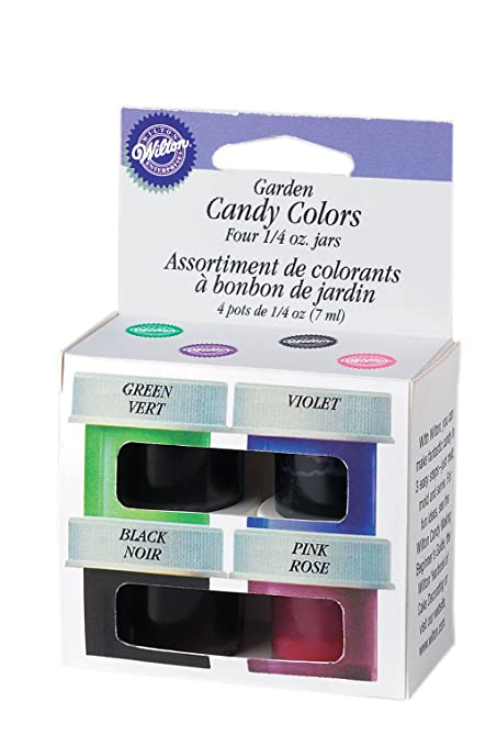 Amazon.com: Wilton Garden Candy Color Set (Set of 4-1/4 oz bottles ...